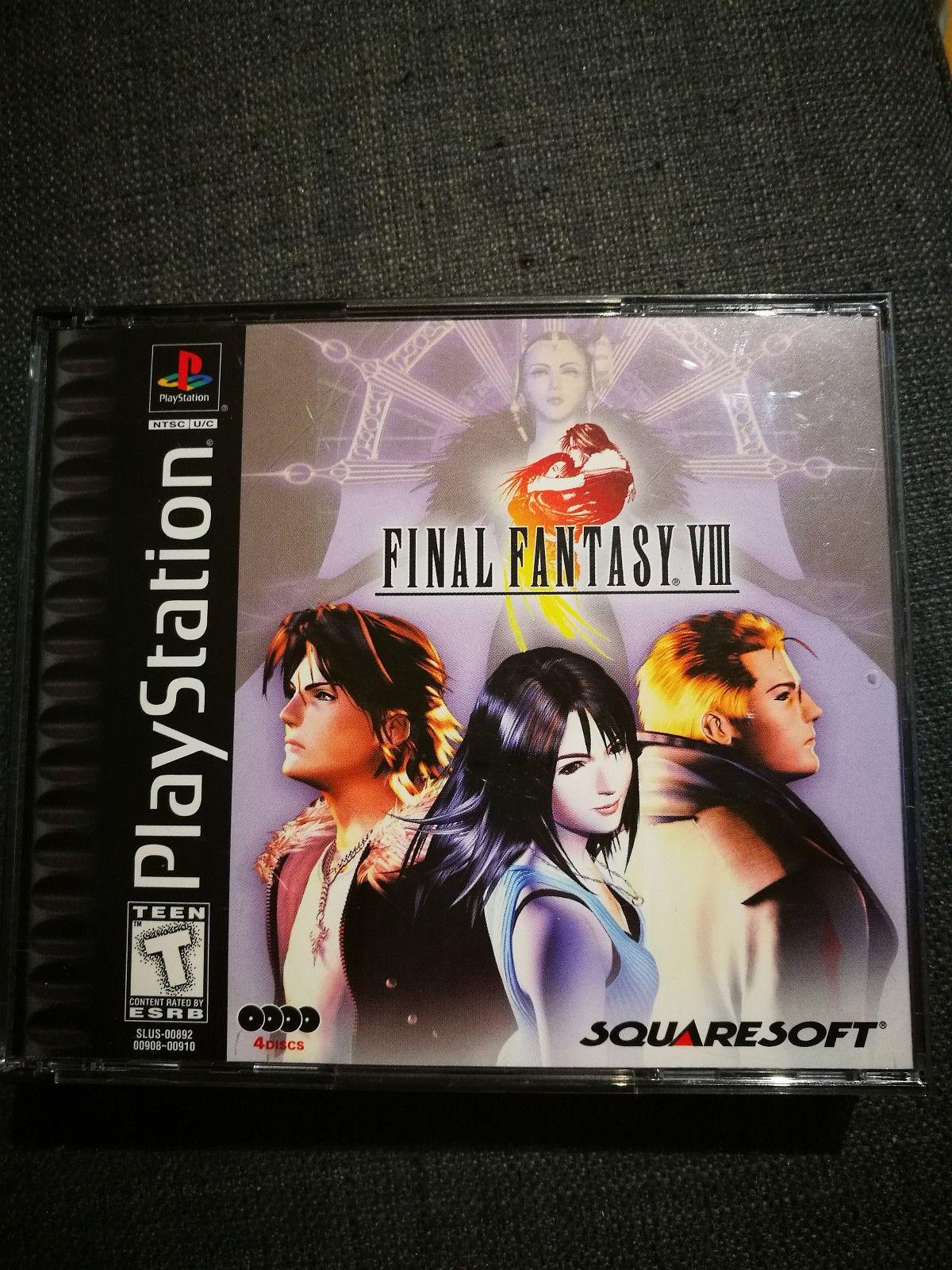 Final Fantasy VIII Ntsc Psx - Oslo  - Selger Final Fantasy VIII veldig nydelig stand. - Oslo