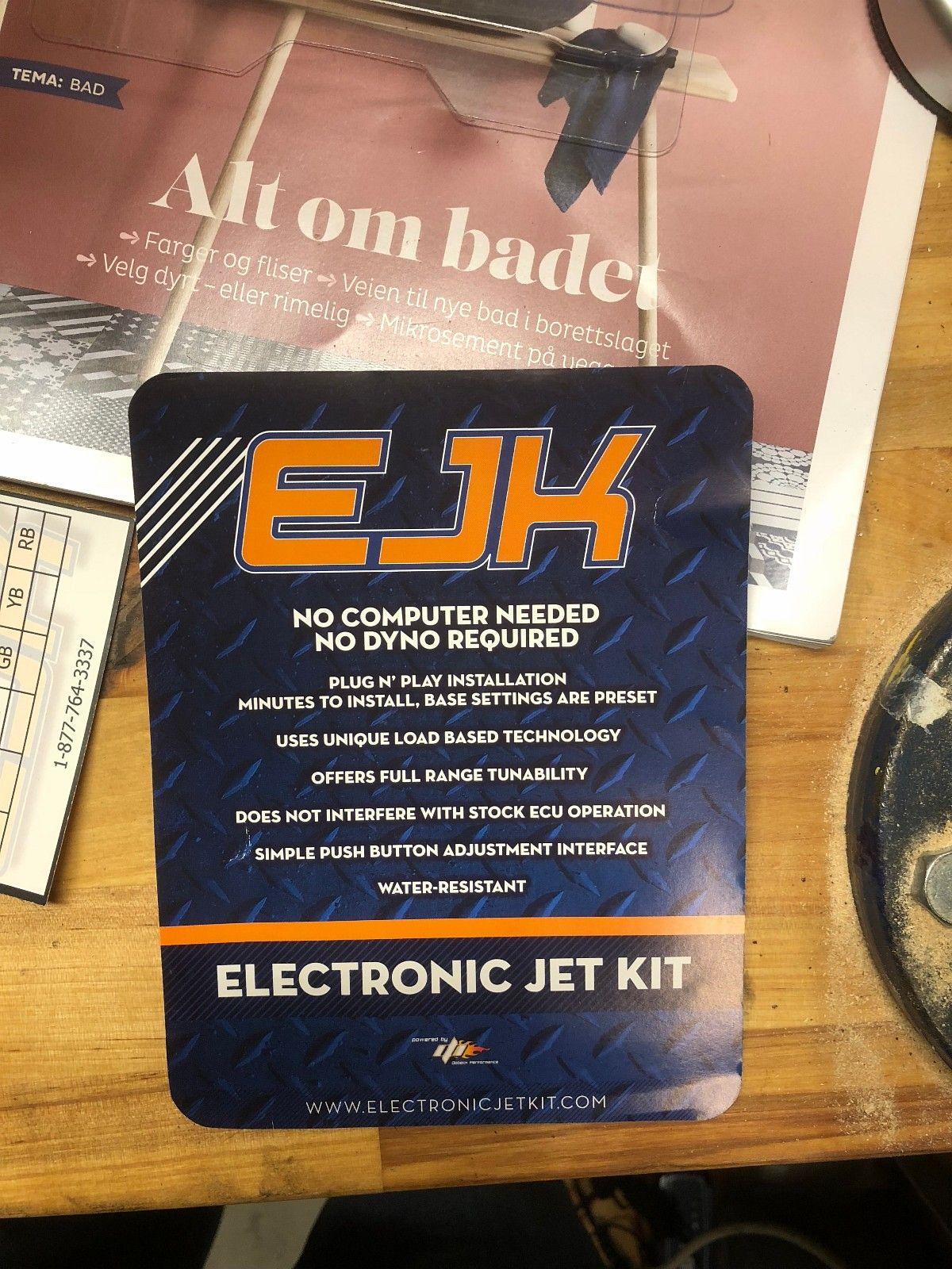 Electronic Jet Kit - Gen 3.5 til Harley Davidson - Oslo  - Ubrukt elektronisk jet kit for deg som ønsker mer kraft i sykkelen.   Skulle gjerne montert denne på min egen sykkel, men har dessverre ikke innsprøytningsmotor. Fikk den som en delbetaling ved en tidligere handel.   - Oslo