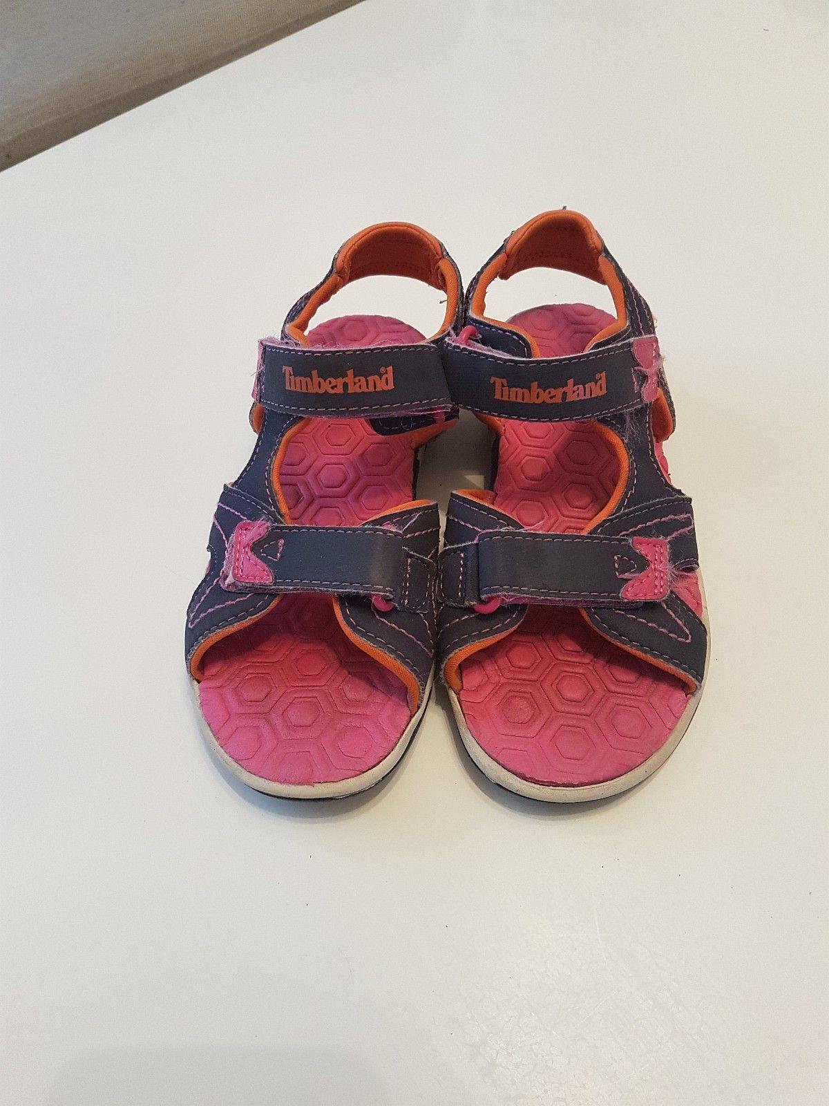 Timberland sandaler str 31 - Søreidgrend  - Timberland sandaler str 31. Brukt som innesko. - Søreidgrend