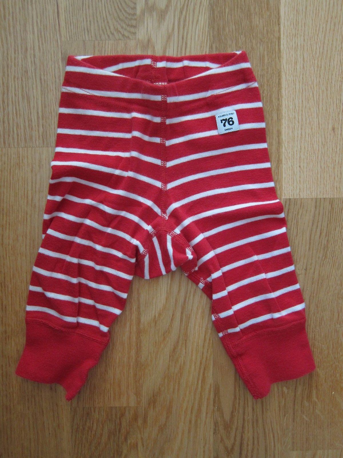 d7b05561e0c Pent brukt Polarn O. Pyret stripete bukse str 62. Selges kr 80. (1/86)