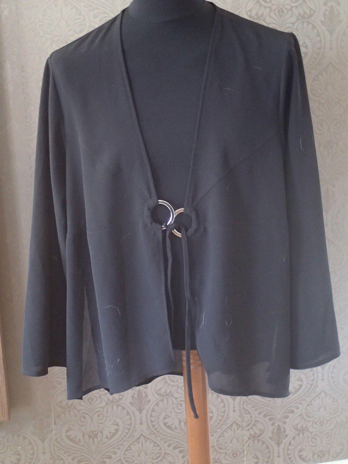 d37574ccbf21 Sort lett jakke til bruk for fest og