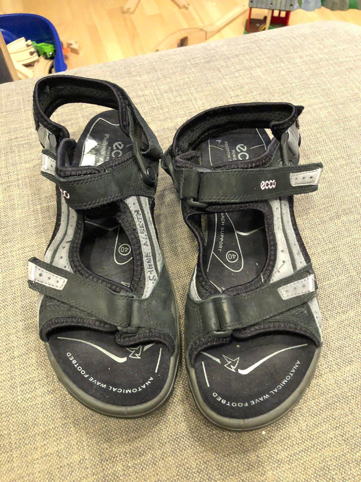 Ecco sandaler str 40 | FINN.no
