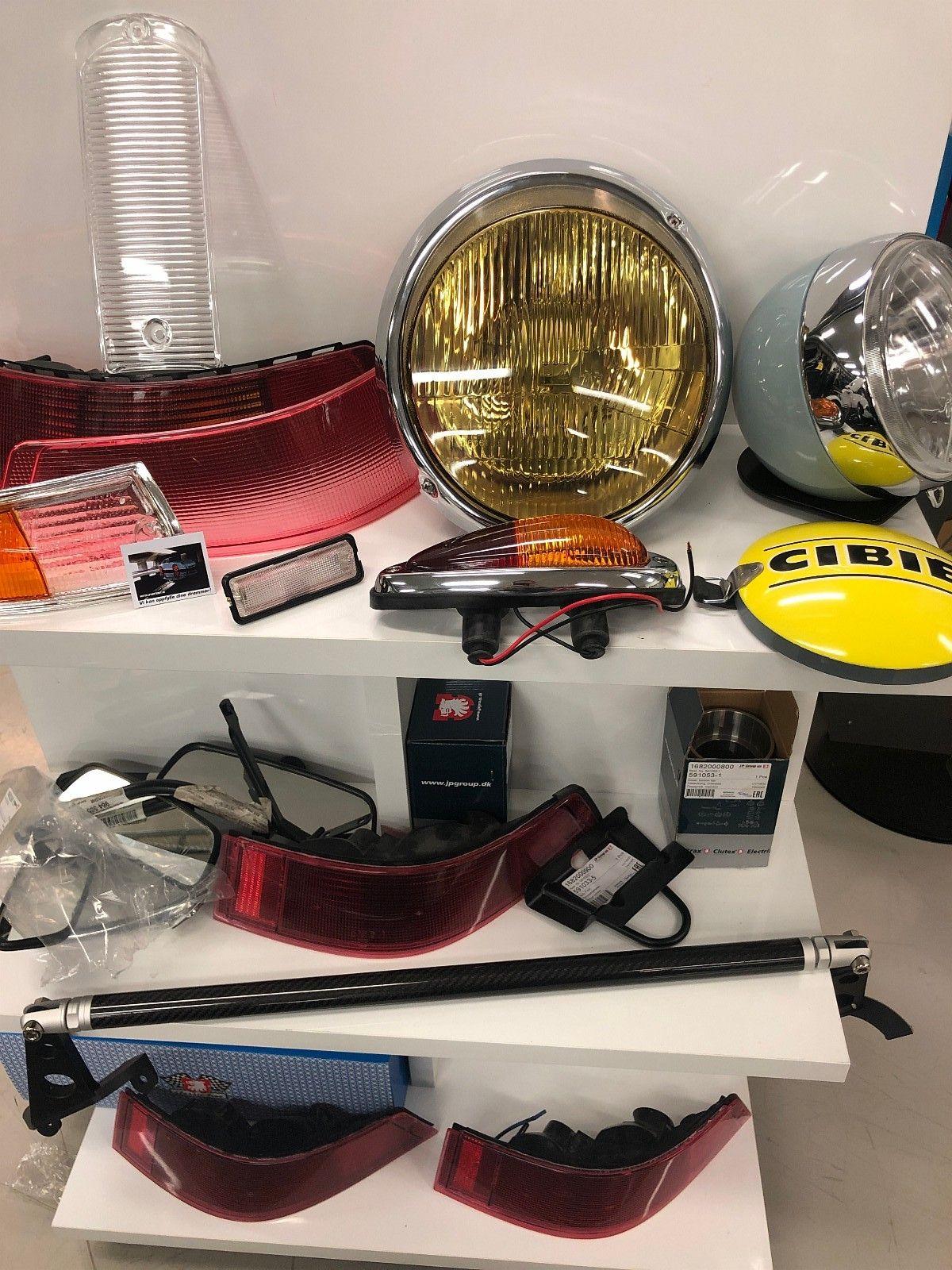 Hella Lamper, ekstralys, classic, rally, lykteglass, lys