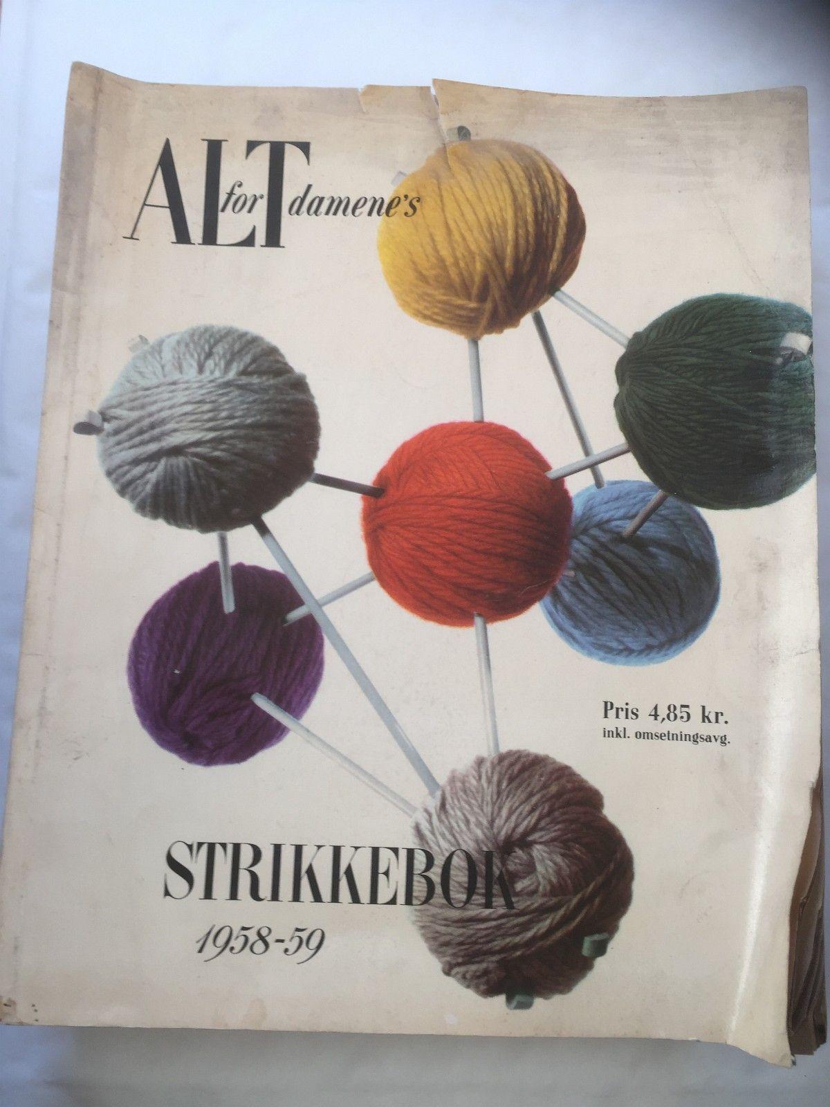4b313147 Bøker om strikking, toving, | FINN.no