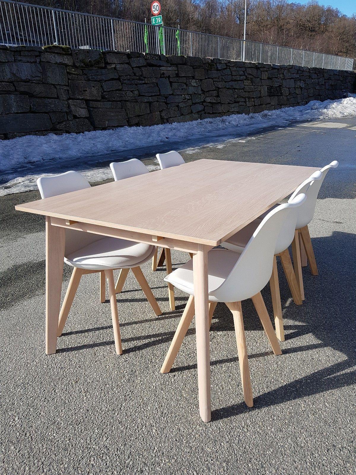Ungdommelig Nordic spisebord med 6 Tone stoler | FINN.no VZ-46