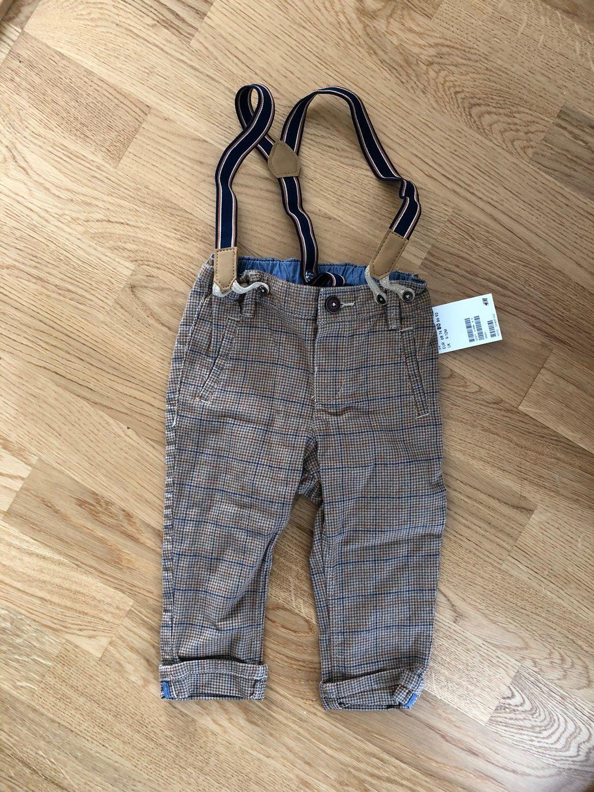 288ade5d12c4 Tøff bukse med seler ubrukt str 80