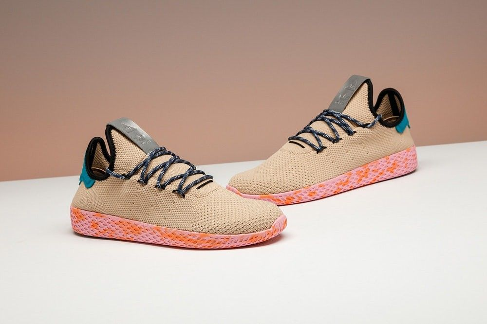Pharrel Williams HU sneaker adidas originals, str: 40, 40