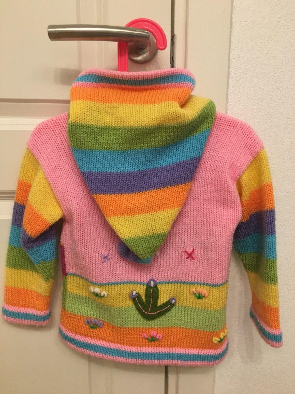 Strikket genser med veldig fine motiver str. 100, 150 kr