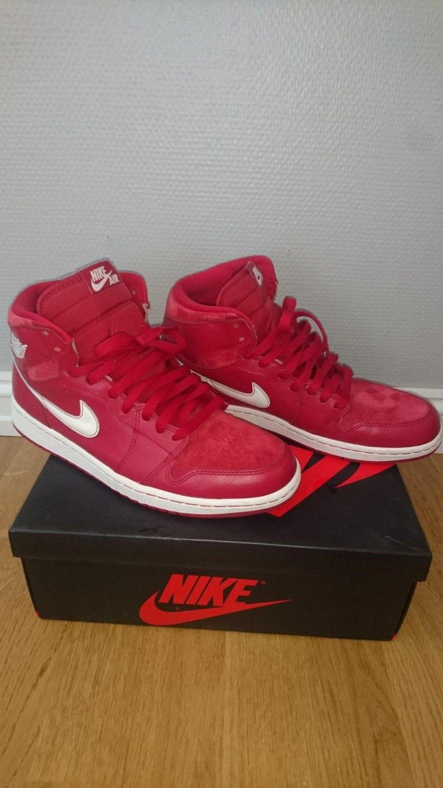 competitive price 6e50c 3734f Nike Air jordan 1 retro euro gym red | FINN.no