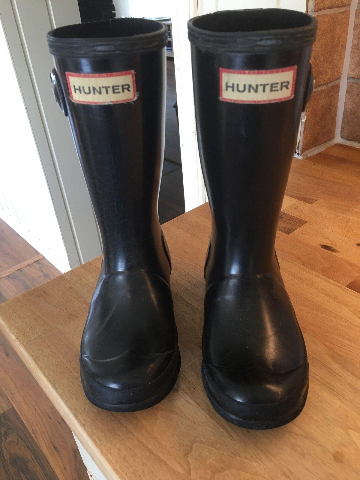 Hunter gummistøvler str 28   FINN.no