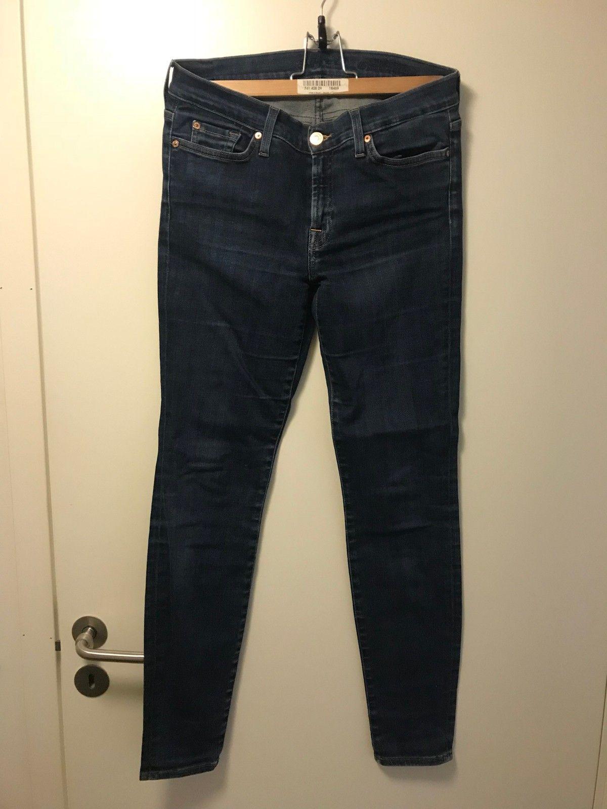 688a874b466 Original Seven for all mankind jeans - size 28 - dark blue - stretch ...
