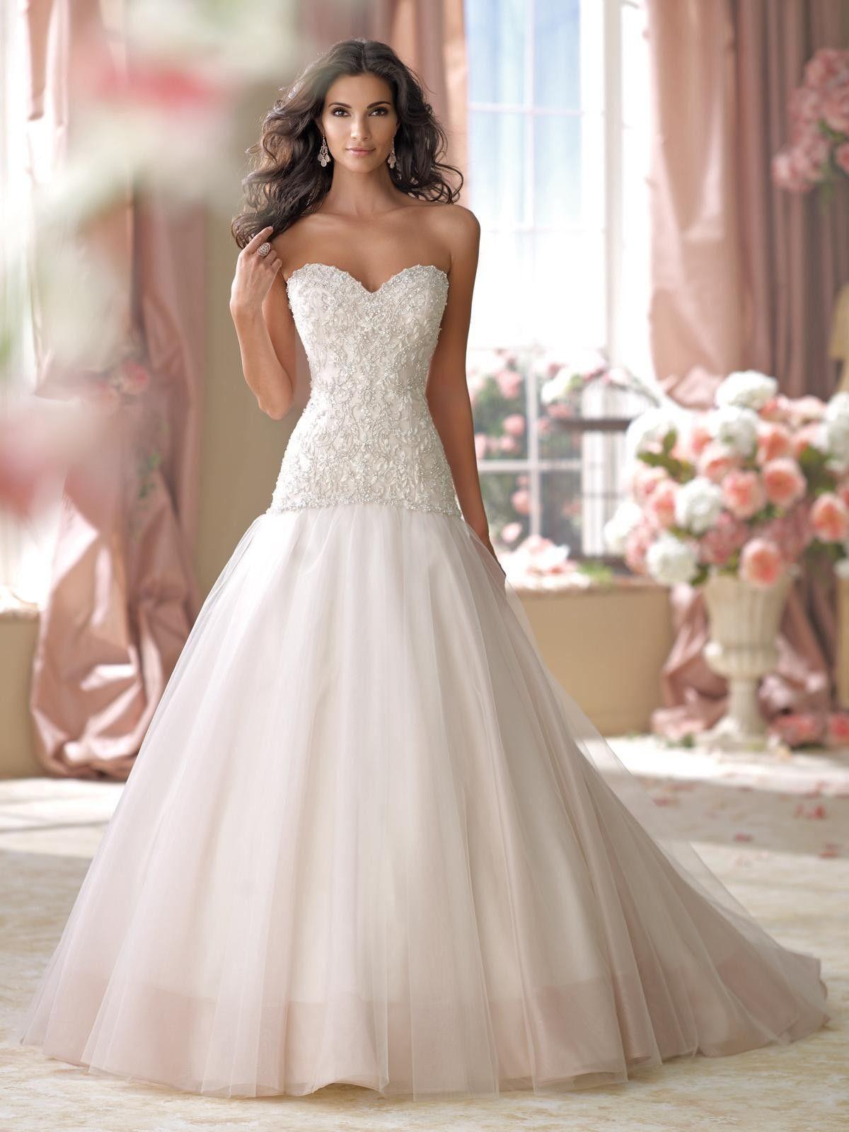 caba4617aba8 Utrolig flott brudekjole selges (ubrukt)