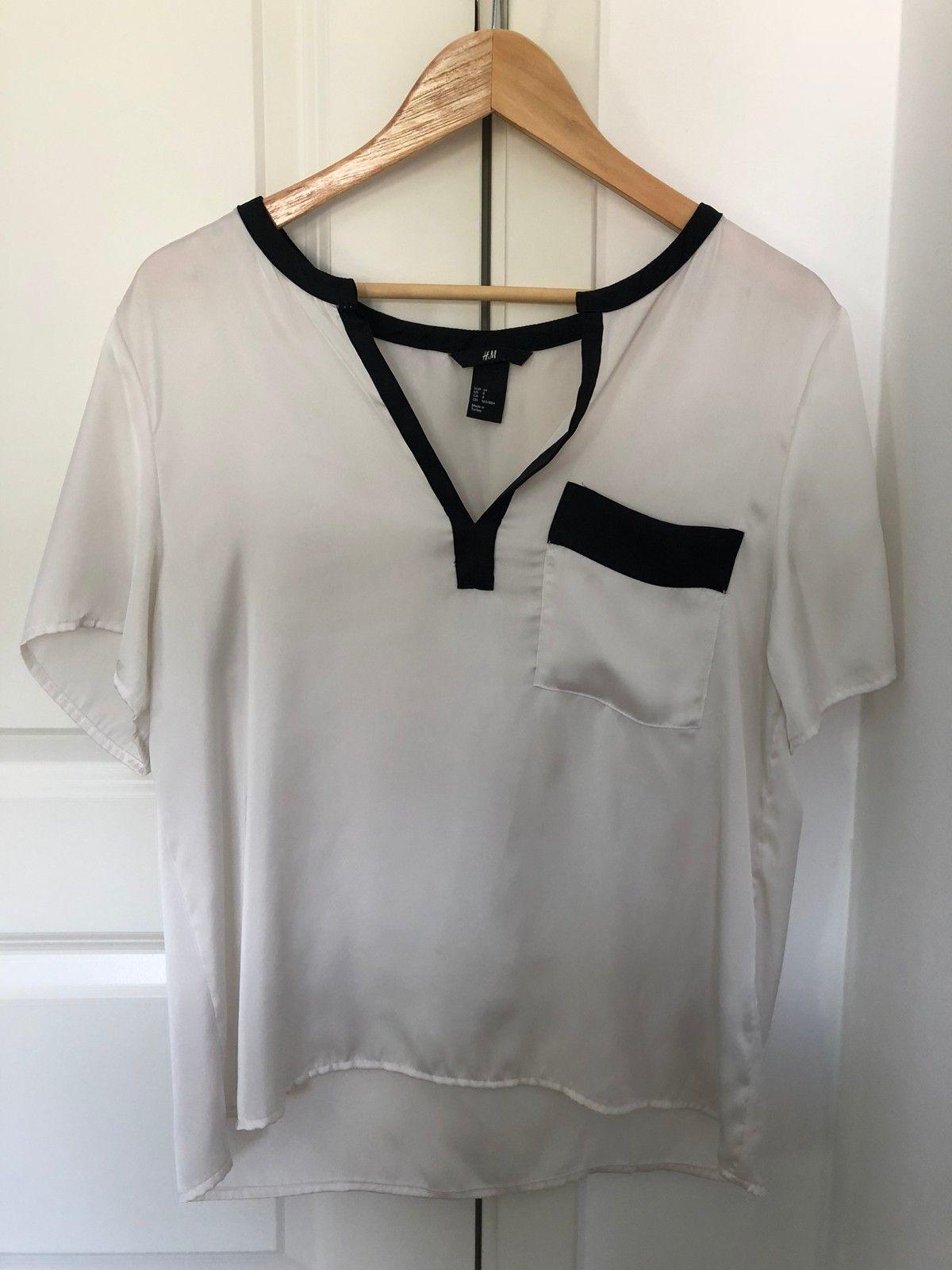 Hvit blusetopp | FINN.no