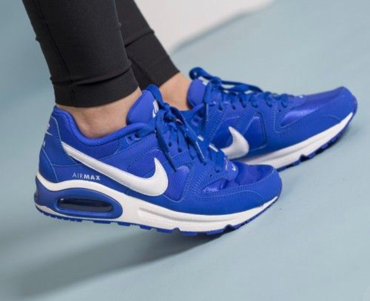 ec9b995808e0 Ubrukte Nike Air Max Command str 38