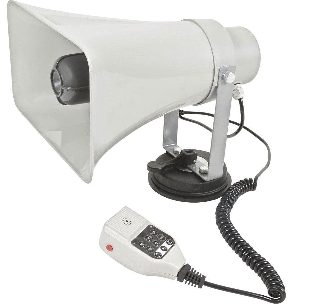 Komplett PA-ljud för bil   båt med megafonhögtalare 28a3cb32638dc