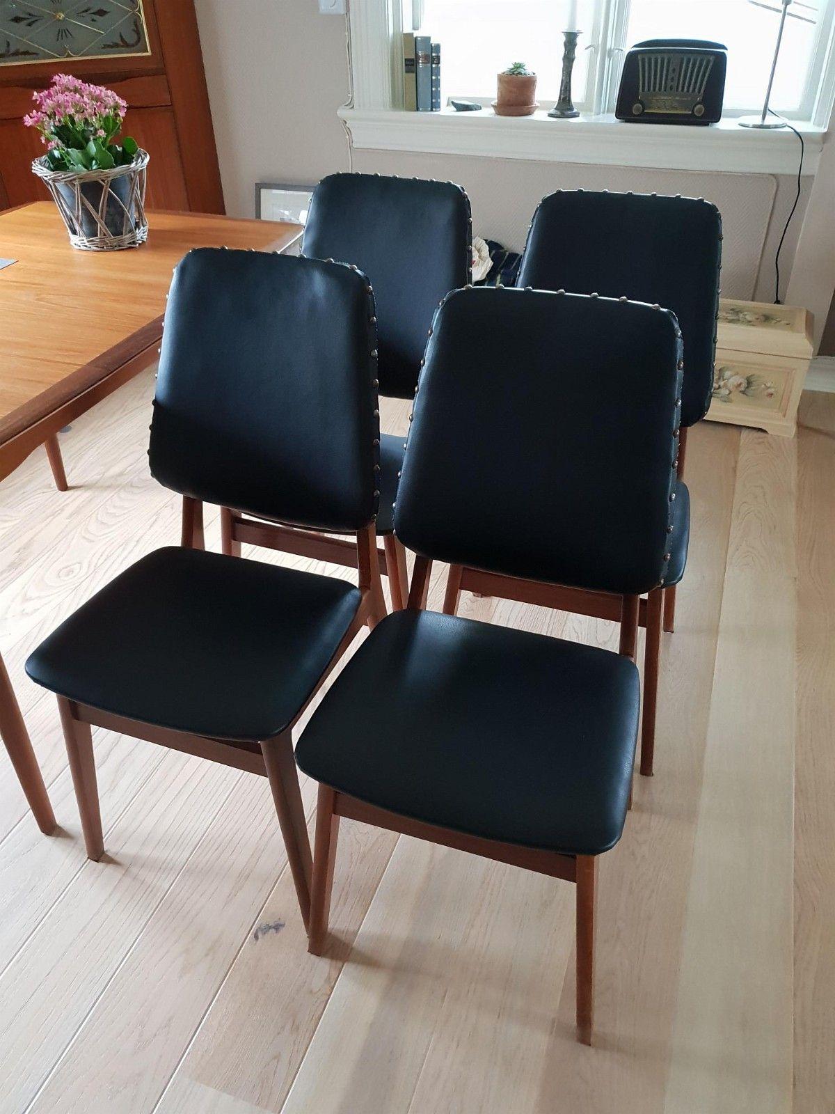 Retro teak stoler 5 Kjøpe, selge og utveksle annonser de