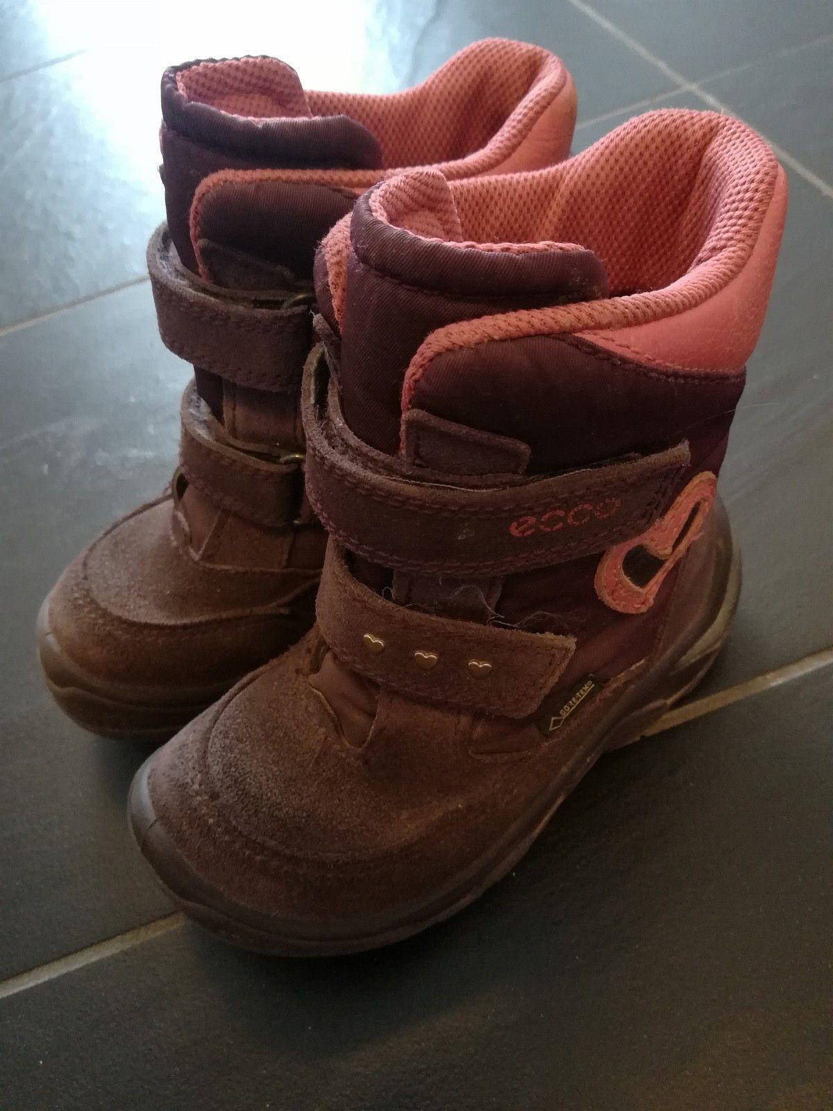 94775bcd879 Ecco Goretex str 25 og i str 27, gode og lette vinter Goretex sko. (1/10)