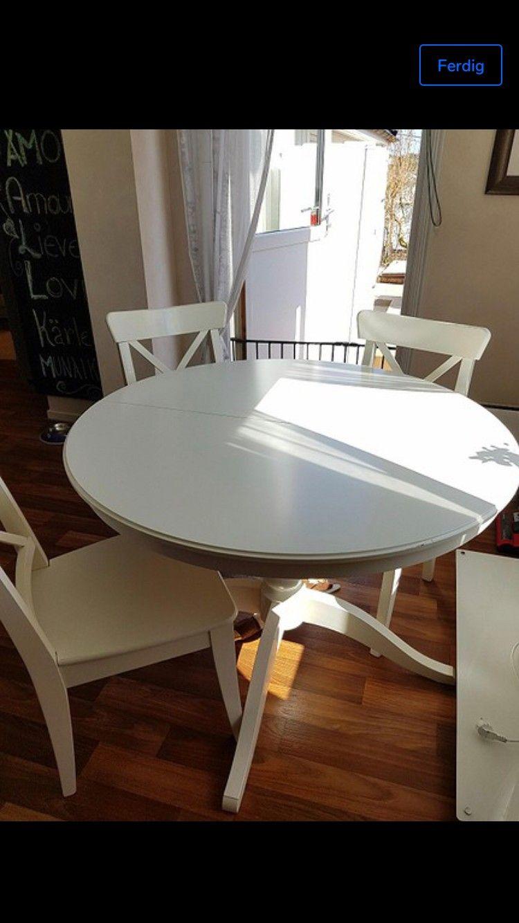 Ingatorp Rundt Bord.Spisebord Rundt Bord Og Kjøpe Selge Og Utveksle Annonser
