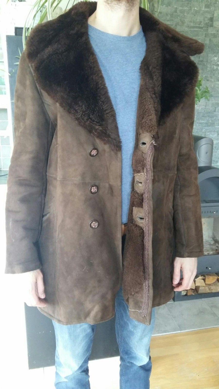 7467e990 Vintage semsket skinnjakke fra 70-tallet | FINN.no