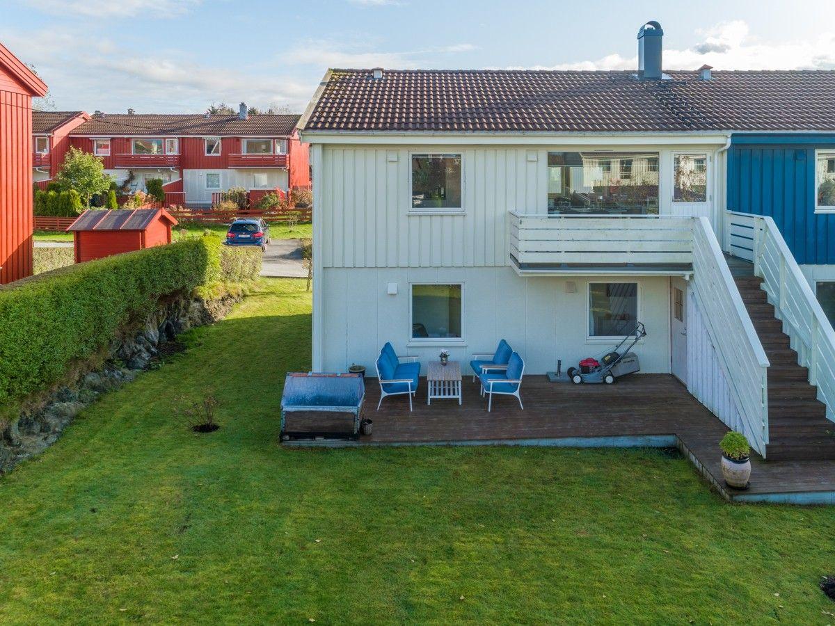 Beitene 6A Nordre bydel- Strøkent rekkehus med solrike terrasser- Nydelig bad og kjøkken!
