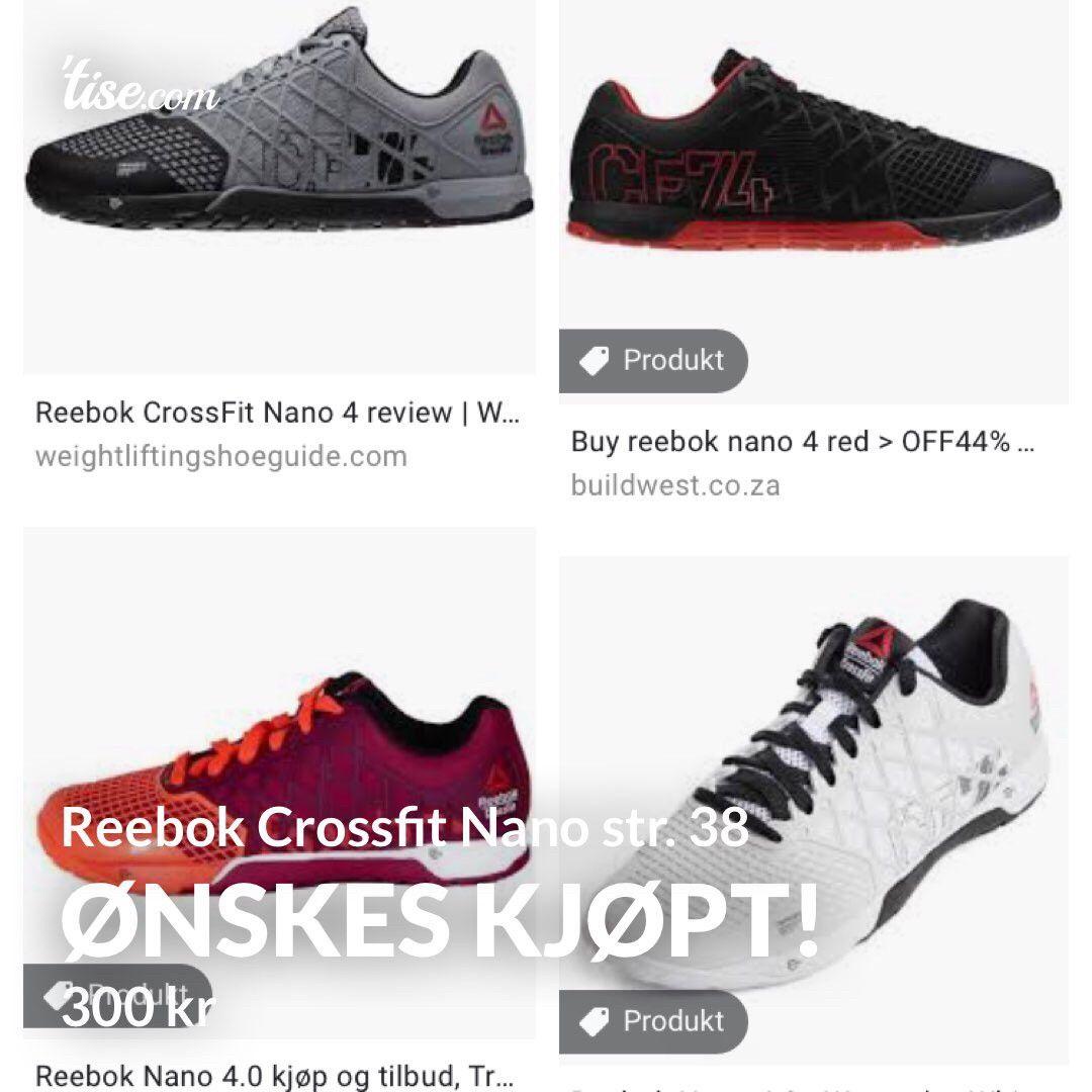 Ønskes kjøpt! Reebok Crossfit Nano | FINN.no