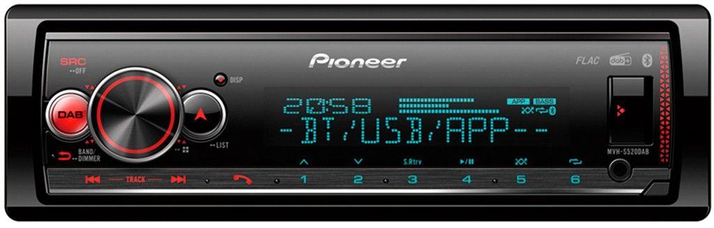 PIONEER MVHS520DAB Norsk Bilradio