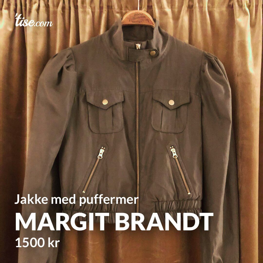 Margit Brandt Copenhagen ny jakke( str36) | FINN.no