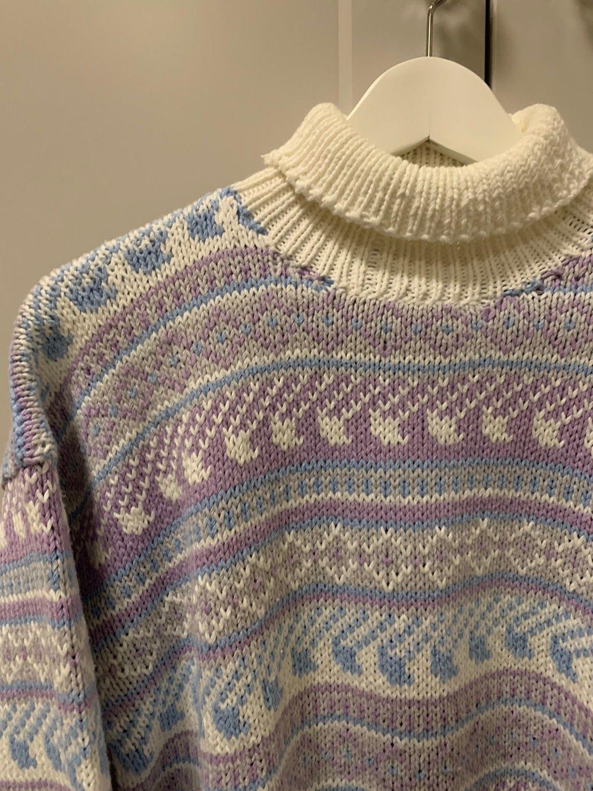 Unik og lekker vintage genser fra 80 90 tallet str S M