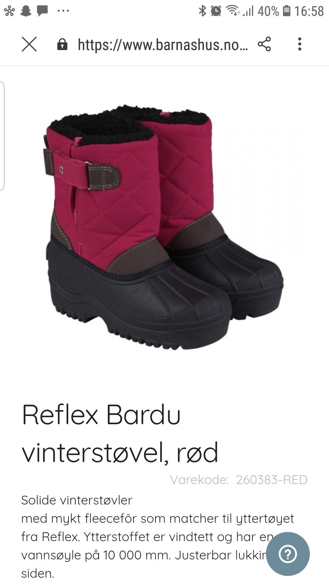 Vinter støvler.Reflex. | FINN.no