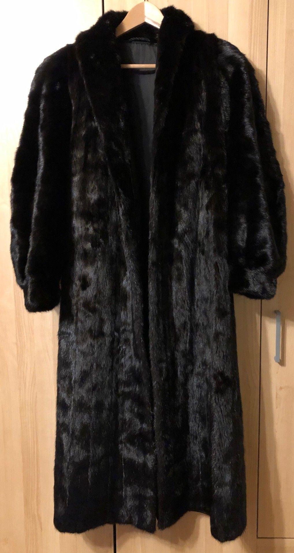 Hvit mink pels jakkekåpe | FINN.no