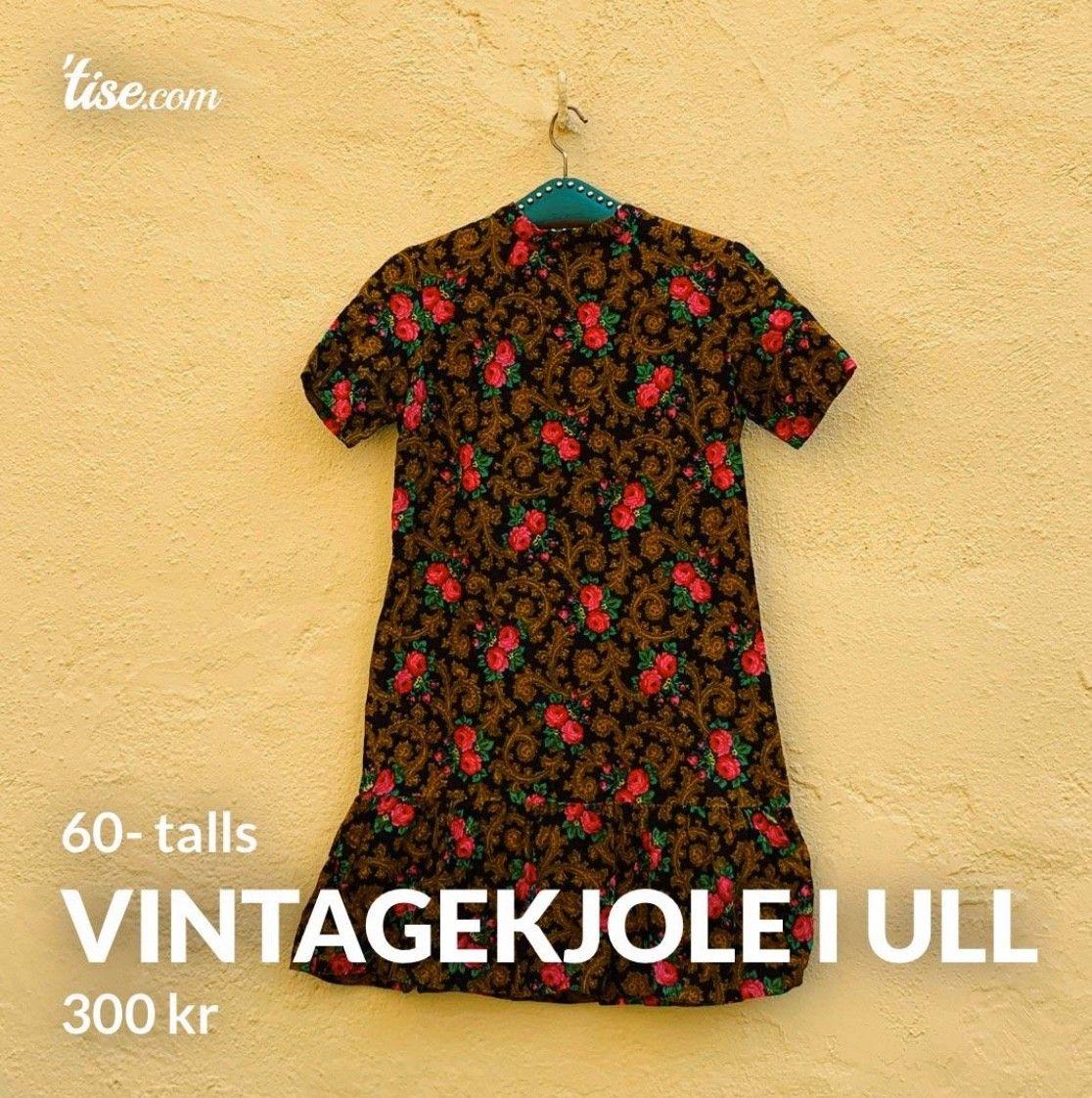 Vintage 60 talls coctailkjole i m | FINN.no