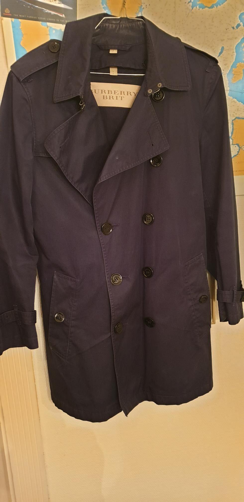 Burberry frakk og jakke til herre   FINN.no