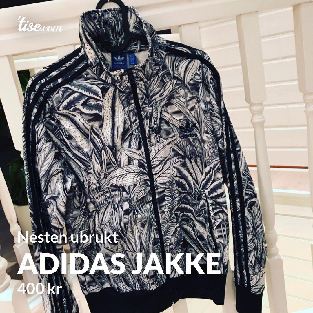 Adidas jakke nesten ubrukt | FINN.no