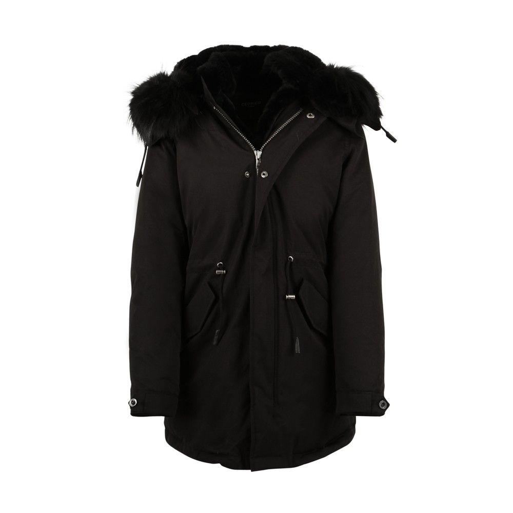 cefdeff7 30% Cedrico Coyan Parka jakke Black fade M- gratis frakt | FINN.no