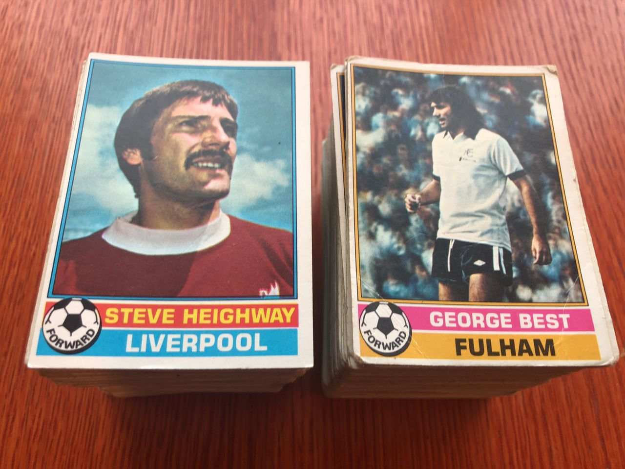 Topps 1977 Engelske Fotballkort Komplett Sett 330 Kort Selges