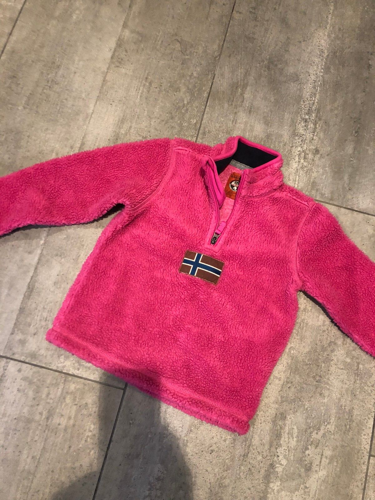 Napapijri fleece genser | FINN.no