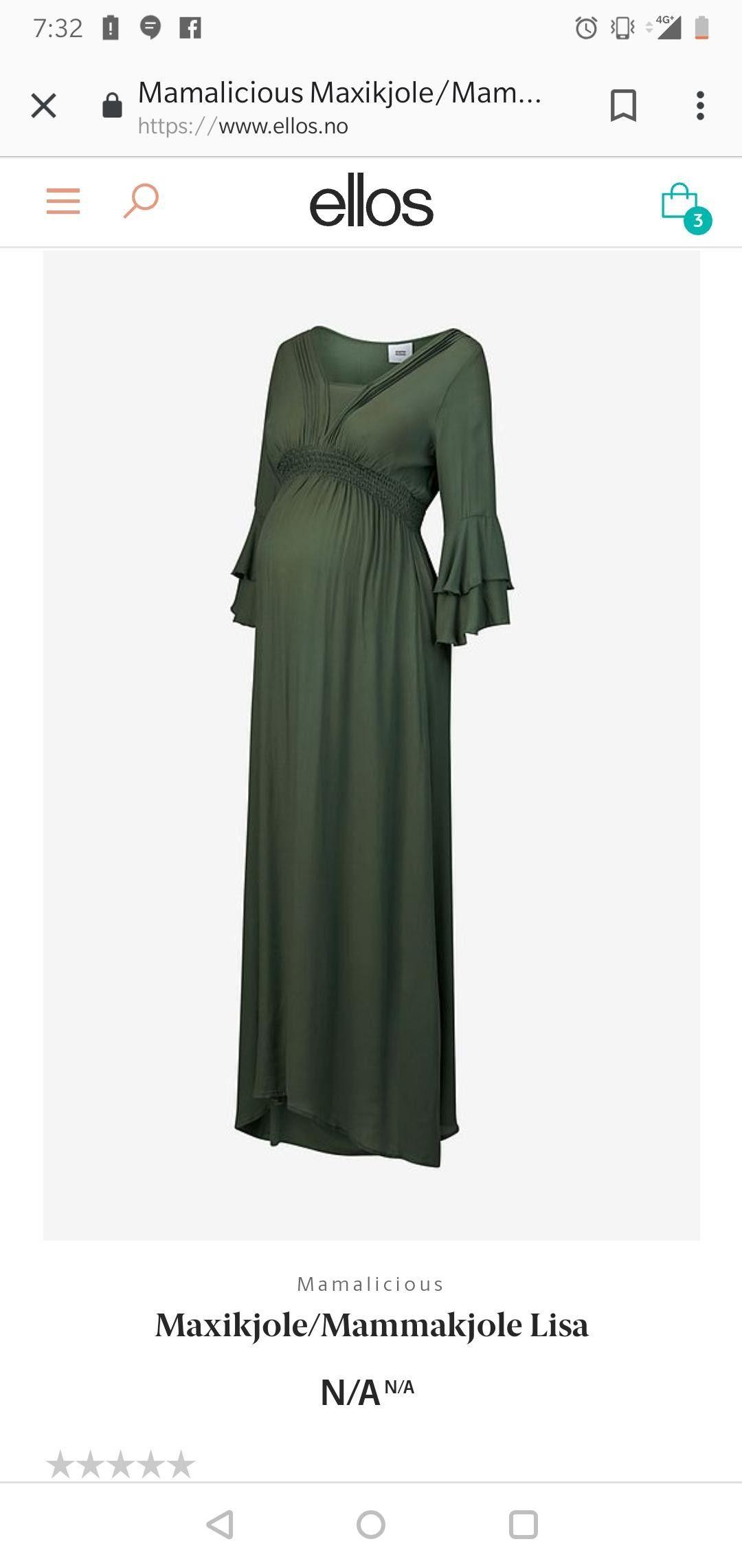 Fineste mamalicious kjolen for en kommende mamma str medium