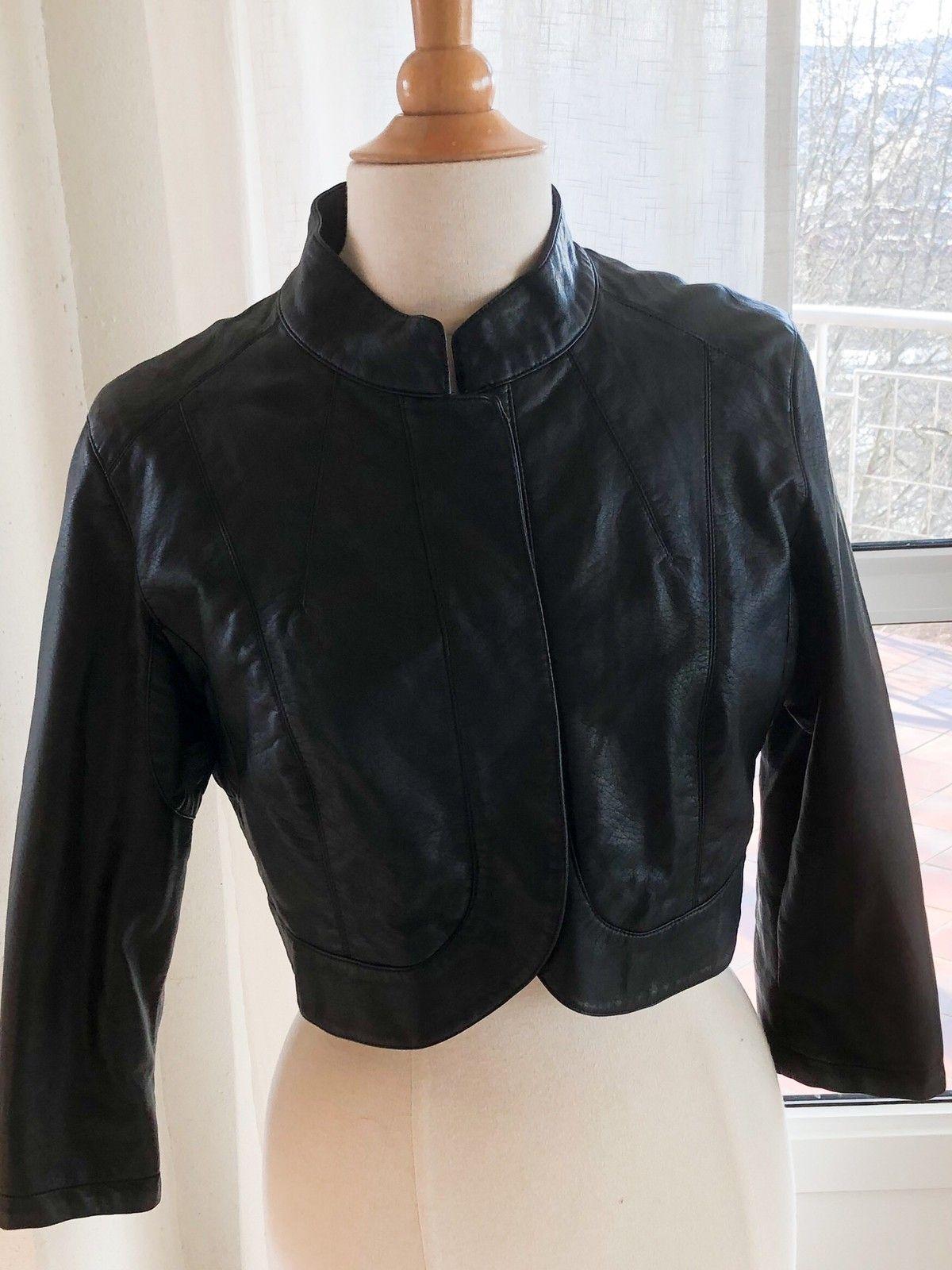 e267b6a4 Kort jakke i PU-skinn / dame | FINN.no