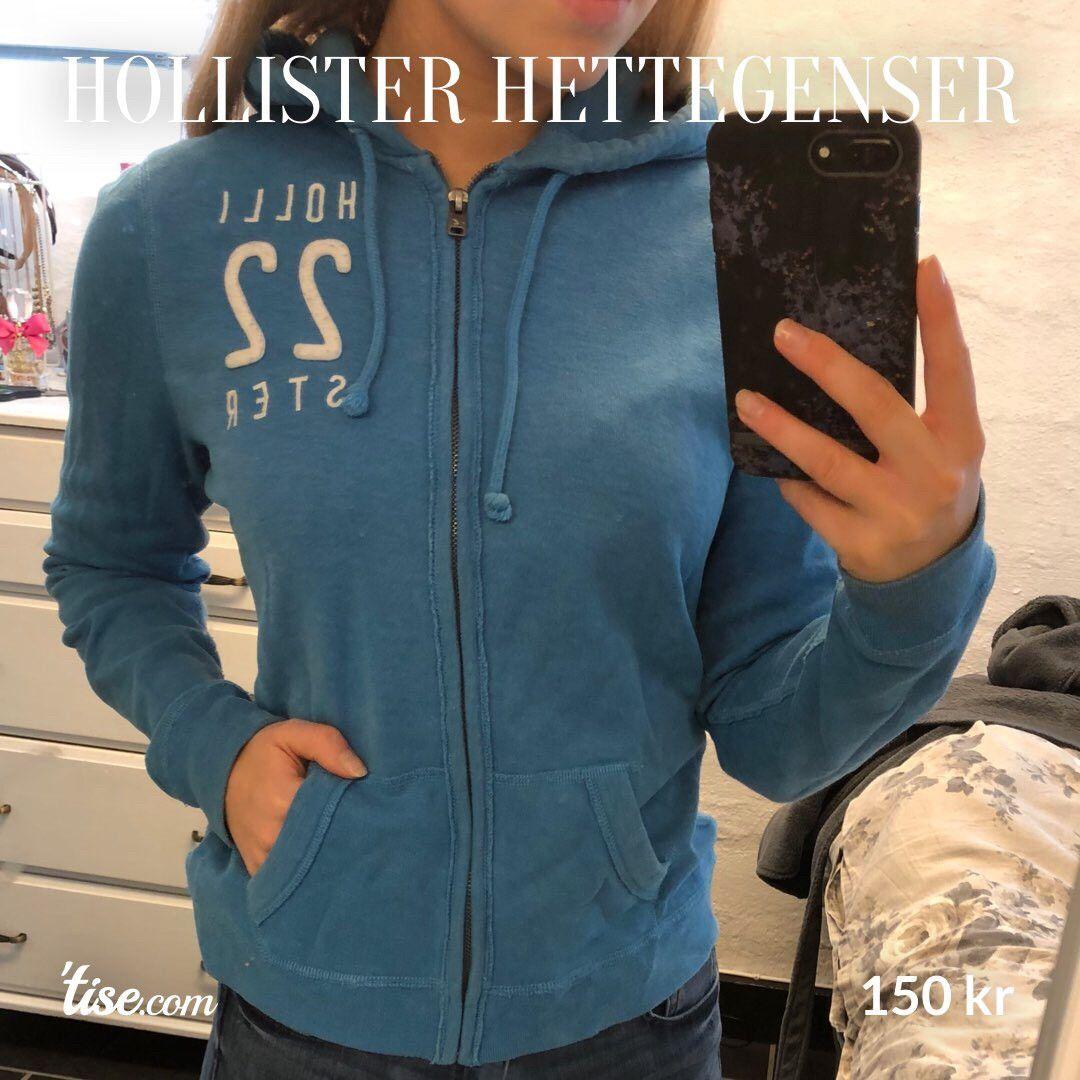 4ef67d94b Hollister jakke- hettegenser strl M | FINN.no
