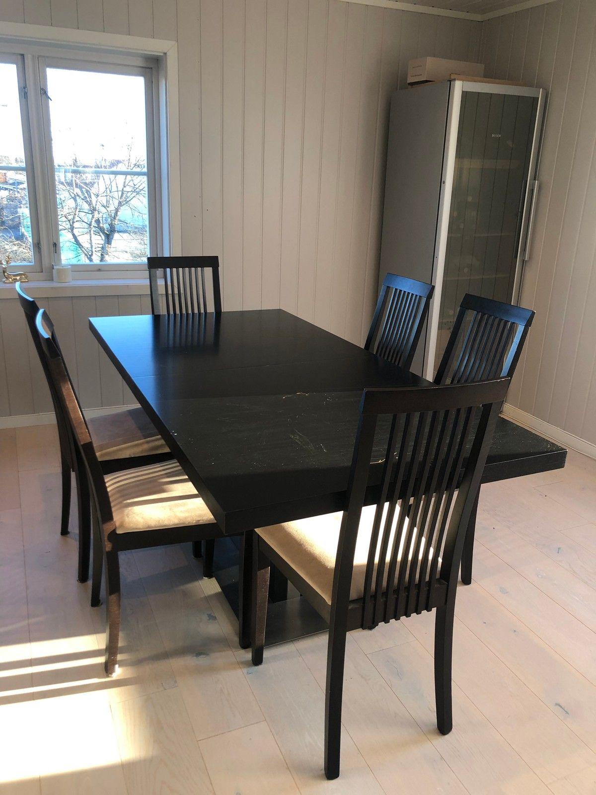 Nytt Massivt spisebord fra Skeidar | FINN.no UQ-91