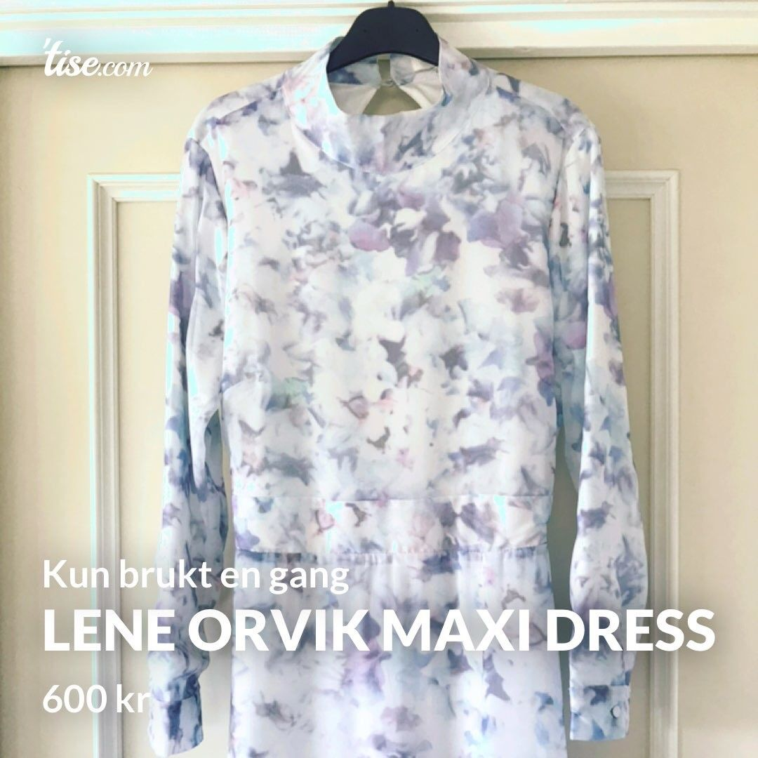 f42c0144 Lene Orvik Maxi Dress   FINN.no
