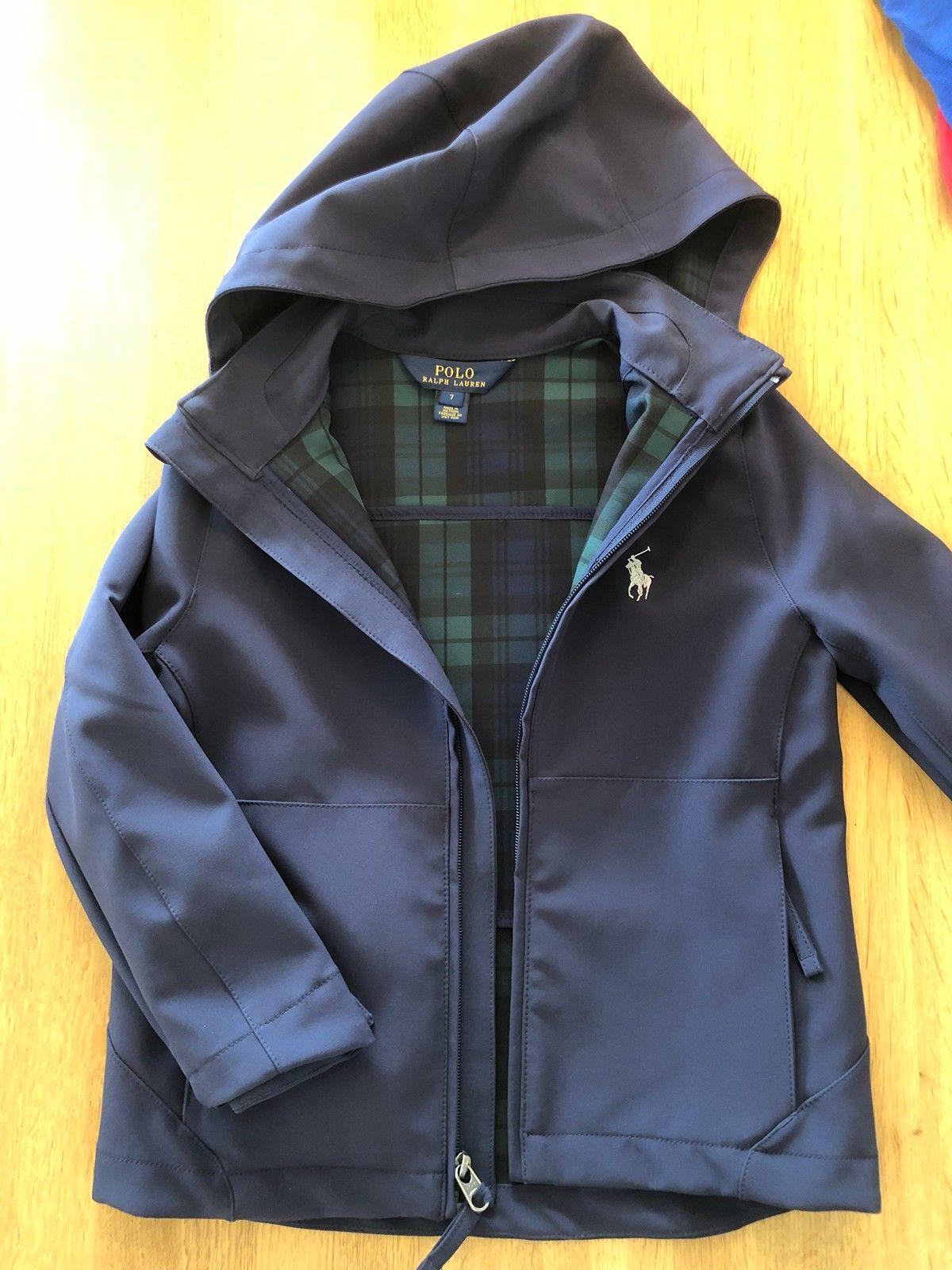 a6e64d5c Ralph Lauren jakke mørkblå/ rutet inni. Str 7, 500kr (1/33)
