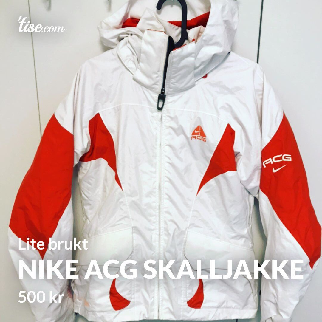 Nike ACG skalljakke+ fleecejakke | FINN.no