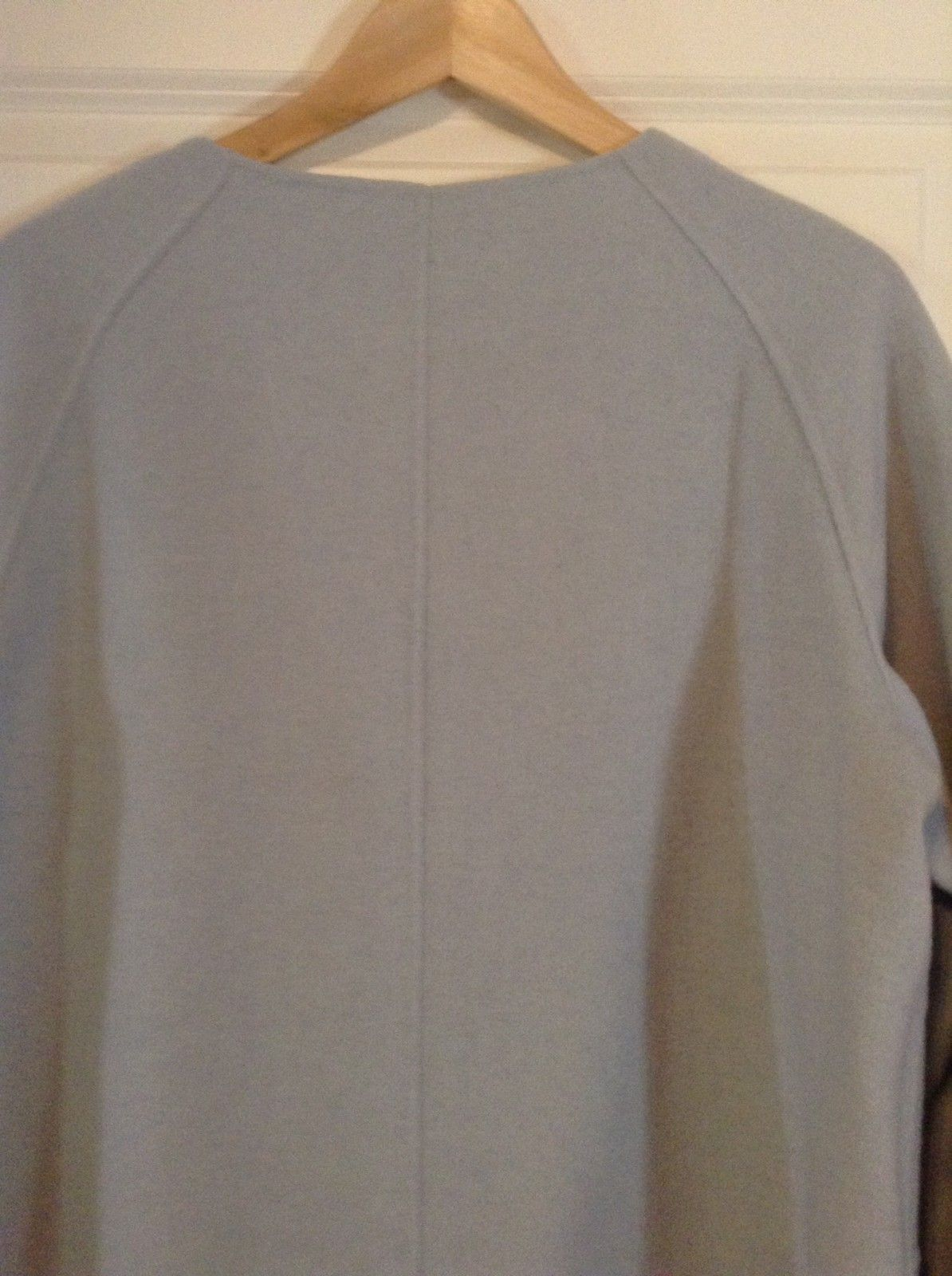 adfe1660 Betty Barclay kåpe/jakke i lyseblå ullstoff | FINN.no
