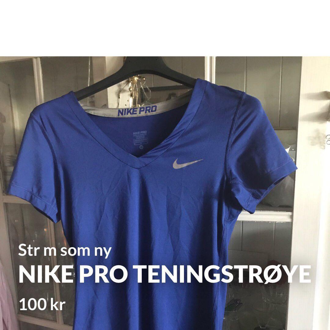 d4cad552 Nike pro treningstrøye Str m | FINN.no