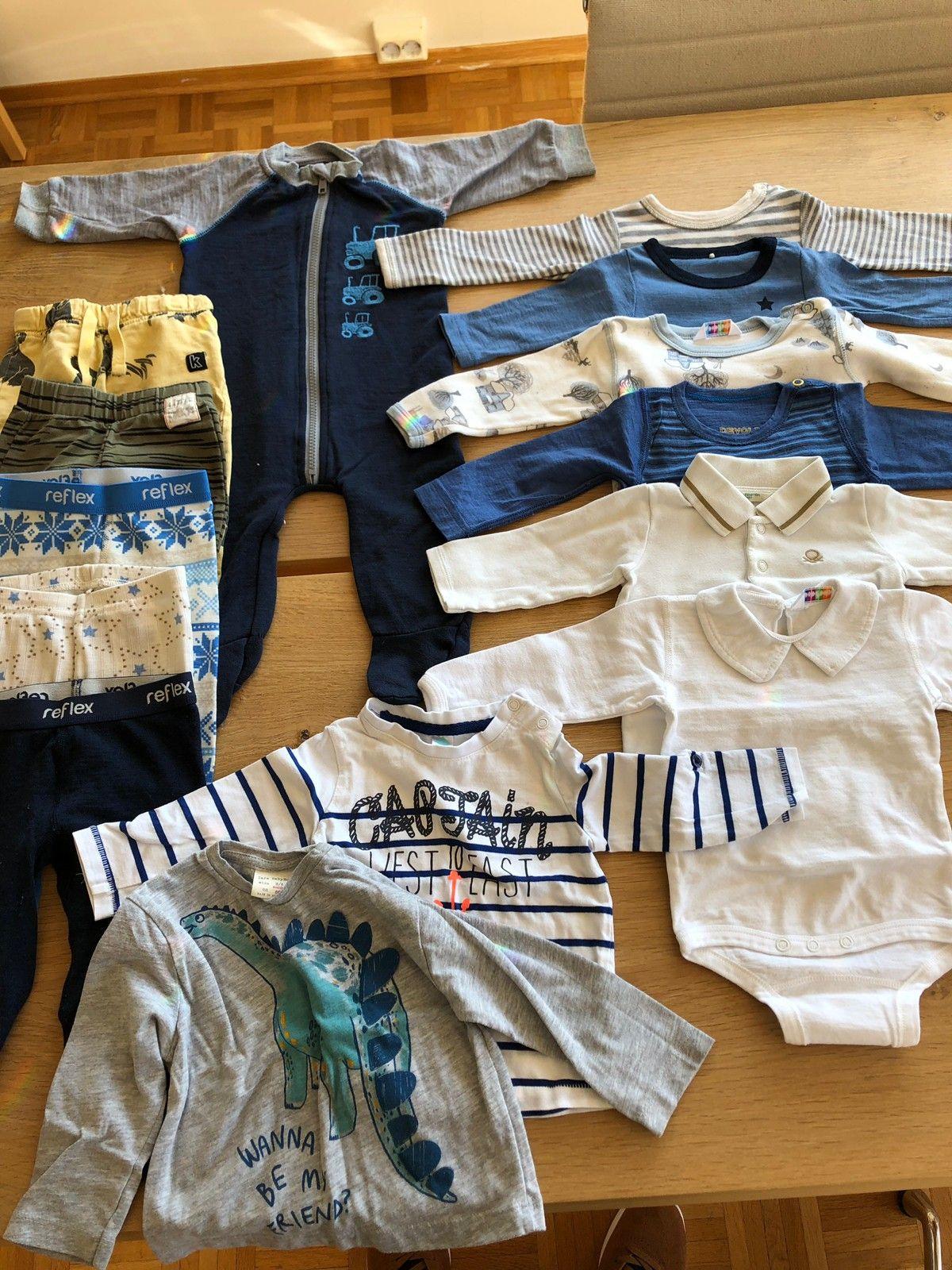 1a2e8d0d Klespakke/ klær baby barn str 68 ull og bomull   FINN.no
