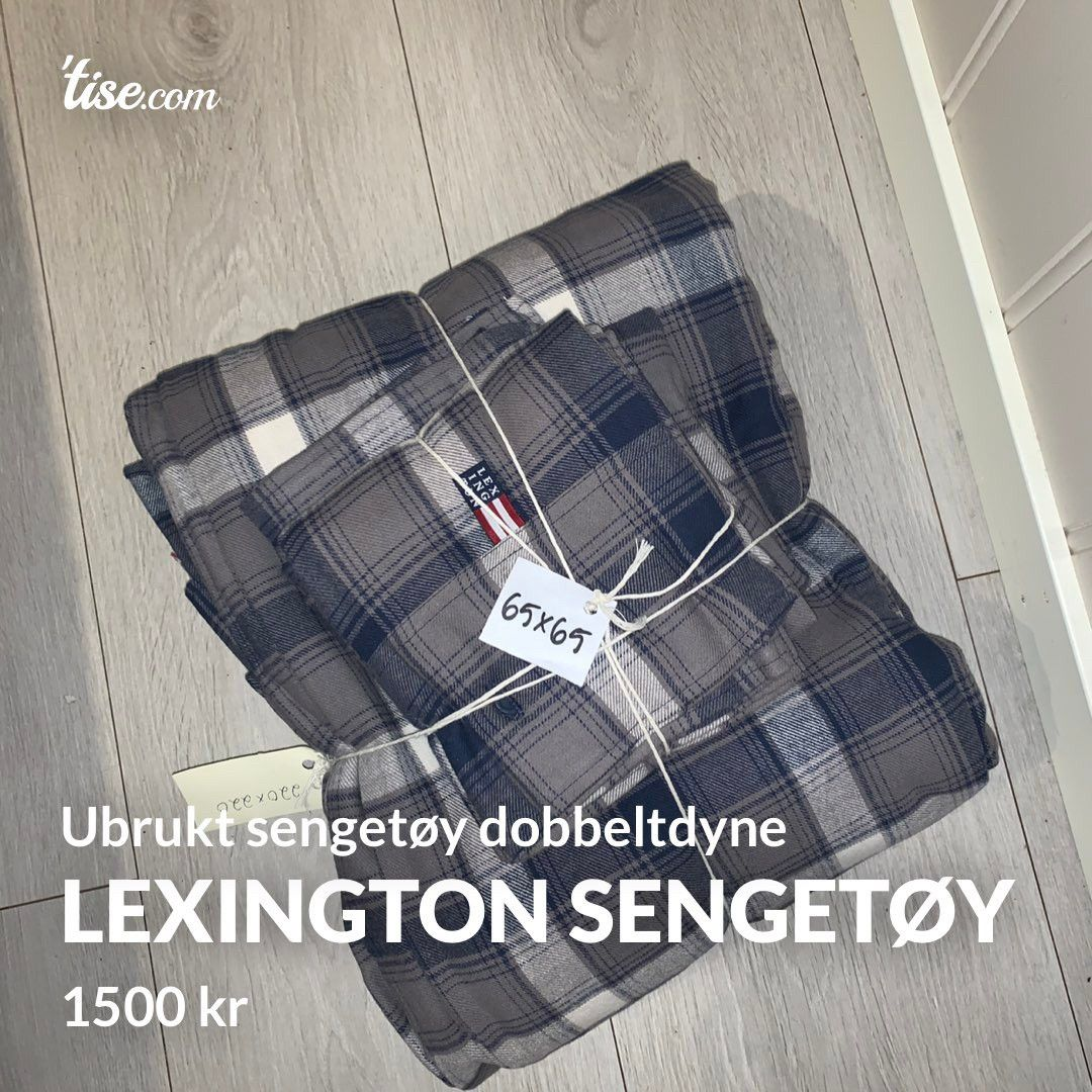 Stilig Lexington sengetøy | FINN.no MH-42