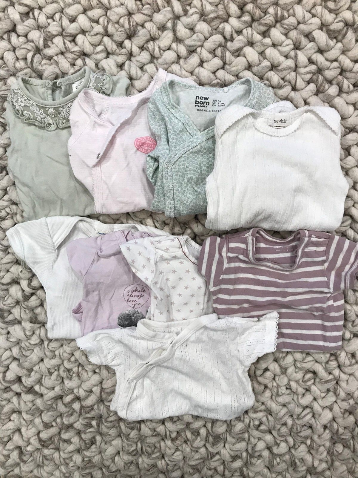 bc0c25b5f Pent brukte jenteklær til baby str 56 selges billig | FINN.no