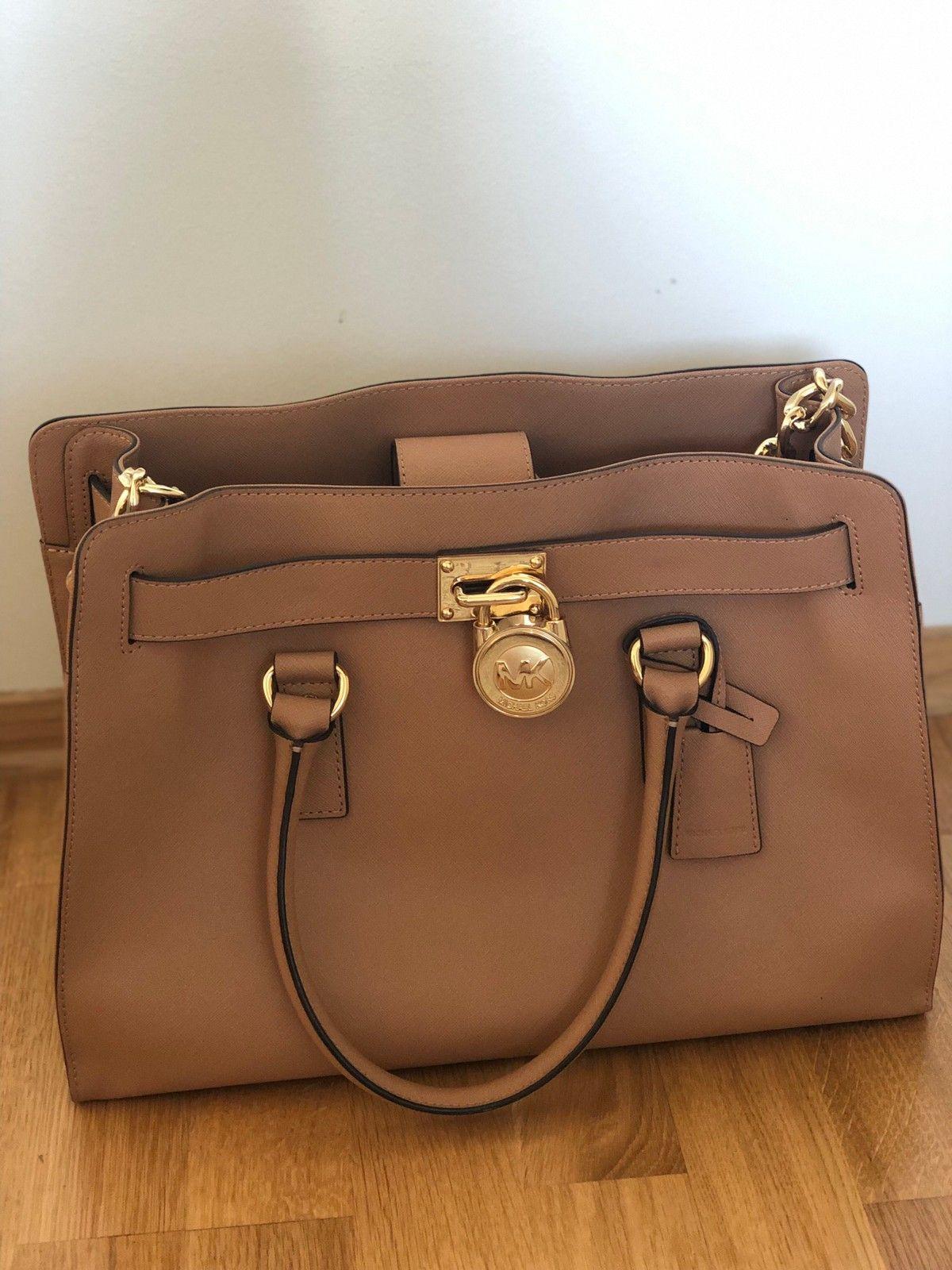 791744cd9 Michael Kors Hamilton bag   FINN.no