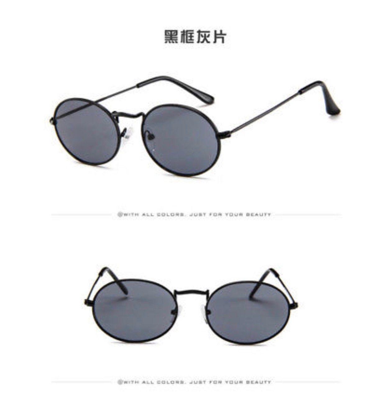 3ebd3feaf Nye ovale svarte solbriller | FINN.no